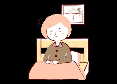 更年期に眠りの質が下がる!?<br />不眠の症状と原因、対処方法